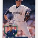 1995 Donruss Baseball #333 Bill Wegman - Milwaukee Brewers