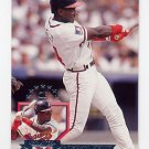 1995 Donruss Baseball #301 Roberto Kelly - Atlanta Braves