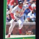 1993 Select Baseball #223 Milt Thompson - St. Louis Cardinals