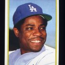 1983 Topps Baseball Glossy Send-Ins #22 Dusty Baker - Los Angeles Dodgers