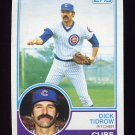 1983 Topps Baseball #787 Dick Tidrow - Chicago Cubs
