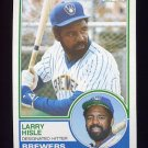 1983 Topps Baseball #773 Larry Hisle - Milwaukee Brewers