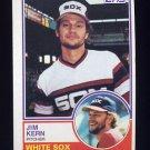 1983 Topps Baseball #772 Jim Kern - Chicago White Sox