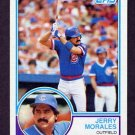 1983 Topps Baseball #729 Jerry Morales - Chicago Cubs