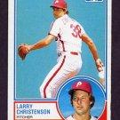 1983 Topps Baseball #668 Larry Christenson - Philadelphia Phillies