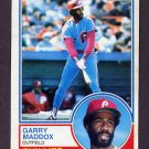 1983 Topps Baseball #615 Garry Maddox - Philadelphia Phillies