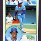 1983 Topps Baseball #582 Marshall Edwards - Milwaukee Brewers