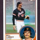 1983 Topps Baseball #518 Bill Laskey - San Francisco Giants