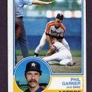 1983 Topps Baseball #478 Phil Garner - Houston Astros