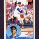 1983 Topps Baseball #369 Jesse Orosco - New York Mets
