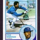 1983 Topps Baseball #335 Steve Henderson - Chicago Cubs