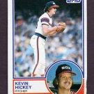 1983 Topps Baseball #278 Kevin Hickey - Chicago White Sox