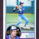 1983 Topps Baseball #277 Rance Mulliniks - Toronto Blue Jays