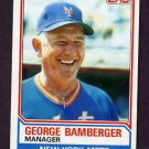 1983 Topps Baseball #246 George Bamberger MG - New York Mets