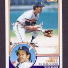 1983 Topps Baseball #225 Enos Cabell - Detroit Tigers