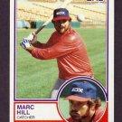 1983 Topps Baseball #124 Marc Hill - Chicago White Sox