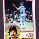 1983 Topps Baseball #106 Gene Nelson - Seattle Mariners