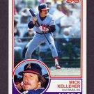 1983 Topps Baseball #079 Mick Kelleher - California Angels