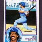 1983 Topps Baseball #052 Onix Concepcion - Kansas City Royals