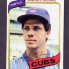 1980 Topps Baseball #541 Miguel Dilone - Chicago Cubs