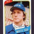 1980 Topps Baseball #522 Jim Morrison - Chicago White Sox