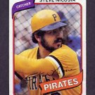 1980 Topps Baseball #519 Steve Nicosia RC - Pittsburgh Pirates G