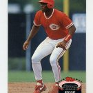 1992 Stadium Club Baseball #865 Reggie Sanders - Cincinnati Reds