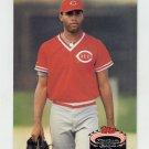 1992 Stadium Club Baseball #336 Mo Sanford - Cincinnati Reds