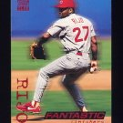 1994 Stadium Club Baseball #715 Jose Rijo - Cincinnati Reds