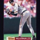 1994 Stadium Club Baseball #413 Ben McDonald - Baltimore Orioles