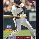 1994 Stadium Club Baseball #268 Matt Williams - San Francisco Giants