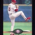 1995 Stadium Club Baseball #586 Mike Mimbs RC - Philadelphia Phillies