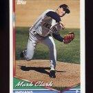 1994 Topps Baseball #696 Mark Clark - Cleveland Indians