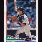 1994 Topps Baseball #695 Mike Stanley - New York Yankees
