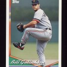 1994 Topps Baseball #654 Bill Gullickson - Detroit Tigers