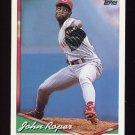 1994 Topps Baseball #581 John Roper - Cincinnati Reds