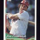 1994 Topps Baseball #504 Jim Eisenreich - Philadelphia Phillies