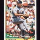 1994 Topps Baseball #501 Donovan Osborne - St. Louis Cardinals