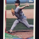 1994 Topps Baseball #378 Tony Fossas - Boston Red Sox