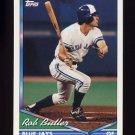 1994 Topps Baseball #361 Rob Butler - Toronto Blue Jays