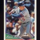 1994 Topps Baseball #344 Sean Berry - Montreal Expos