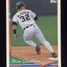 1994 Topps Baseball #342 Danny Gladden - Detroit Tigers