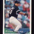 1994 Topps Baseball #299 Wilson Alvarez - Chicago White Sox