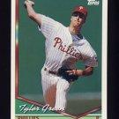 1994 Topps Baseball #294 Tyler Green - Philadelphia Phillies