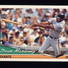 1994 Topps Baseball #174 Dave Martinez - San Francisco Giants