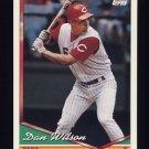 1994 Topps Baseball #154 Dan Wilson - Cincinnati Reds