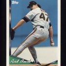 1994 Topps Baseball #146 Rod Beck - San Francisco Giants