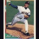1994 Topps Baseball #064 Bill Wertz - Cleveland Indians