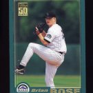 2001 Topps Baseball #649 Brian Rose - Colorado Rockies