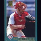 2001 Topps Baseball #592 Mike Lieberthal - Philadelphia Phillies